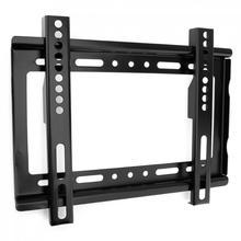 אוניברסלי 25KG 14 ~ 42 אינץ מתכוונן טלוויזיה קיר הר סוגר טלוויזיה שטוח מסגרת עם רמת מכשיר עבור HDTV טלוויזיה שטוח