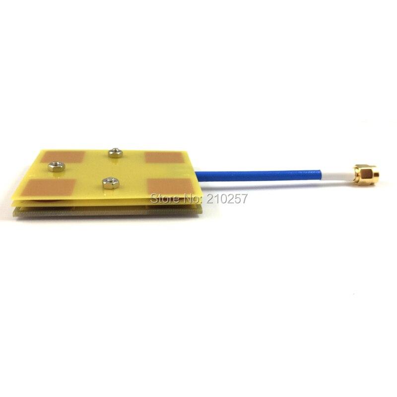 imágenes para 1 unids Panel FPV/Parche Antena 14DBi de Alta Ganancia de 5.8 GHz de Vídeo/Audio Receptor de Largo Alcance