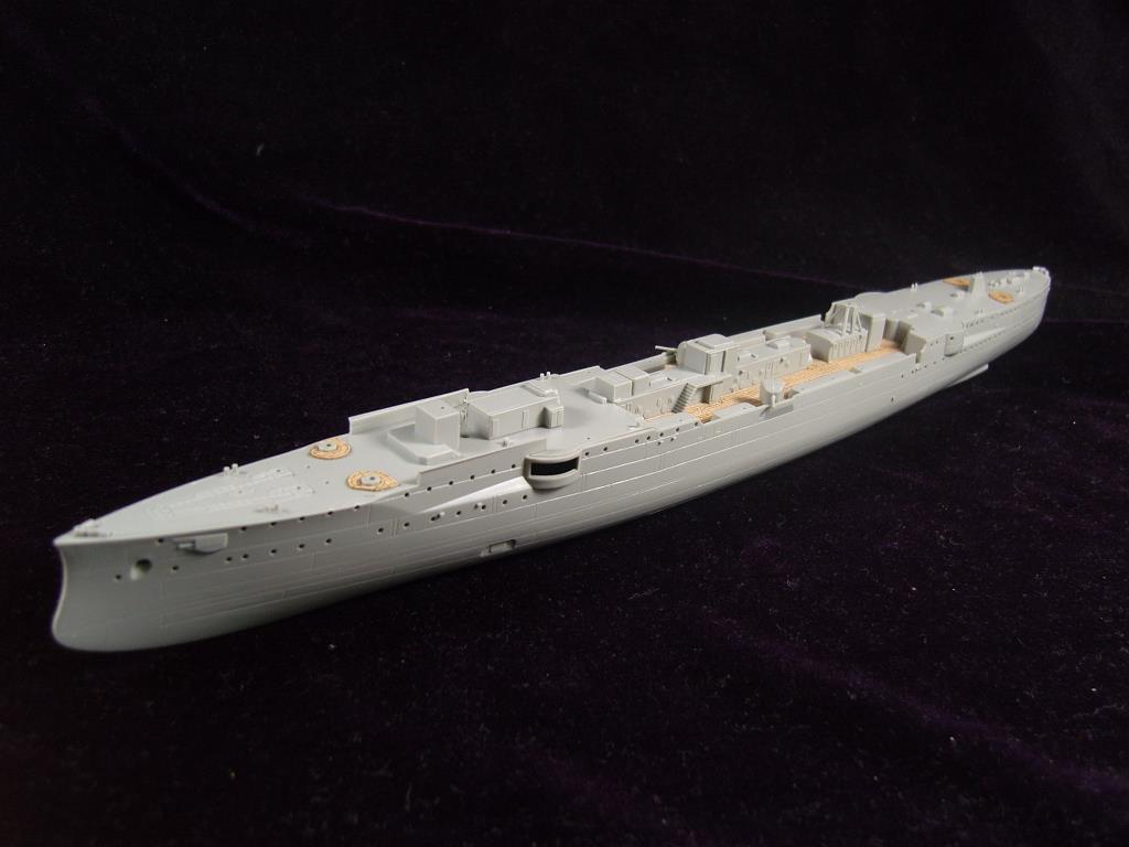 ARTWOX 05041 cruiser Эмден светлой деревянной палубе AW10045