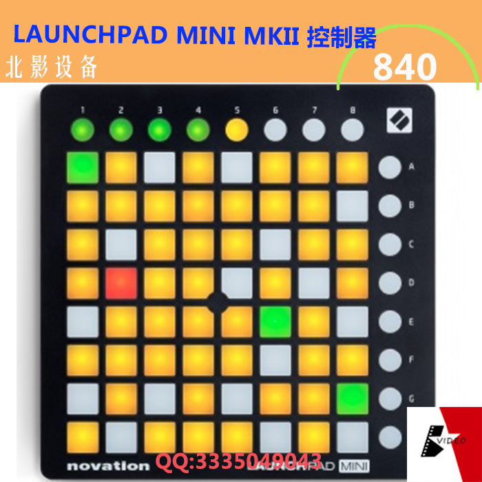 Novation launchpad mini Live MIDI controller USB DJ Stage MINI MK2 MKII USB MIDI DJ Controller 64-Pad+Ableton Live Lite novation launchkey 49 mk2
