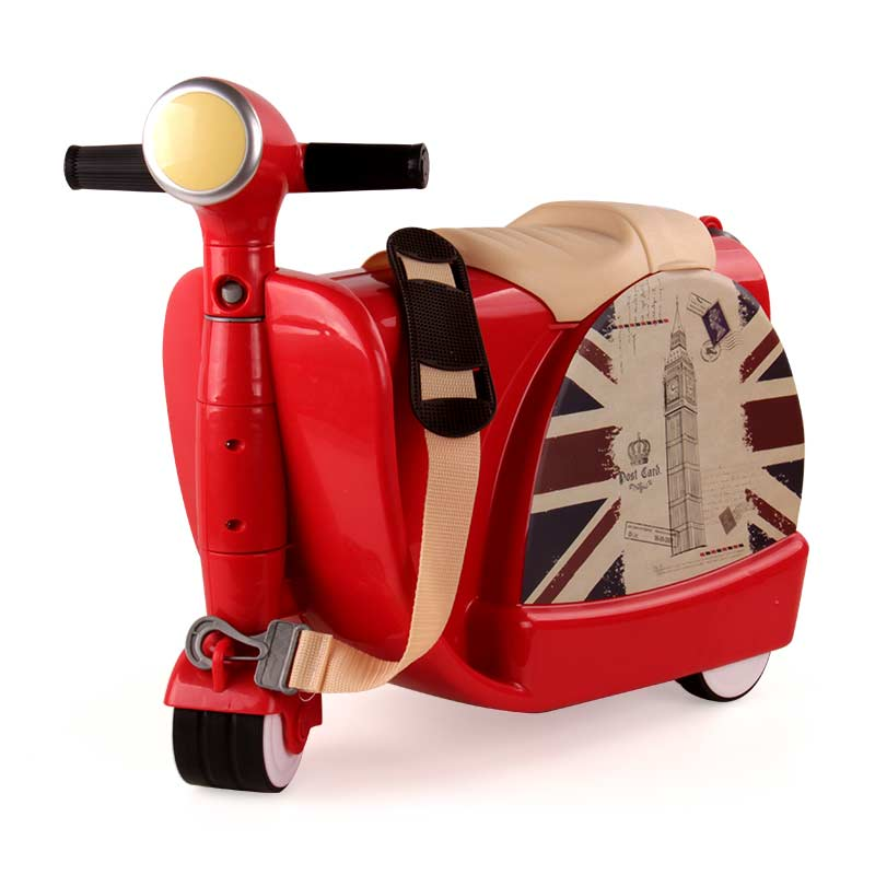 BEI JESS indoor and outdoor suitcases can ride three-wheeled motorcycle toys 3-year-old children grow new Christmas gift посуда для выпечки three can 3