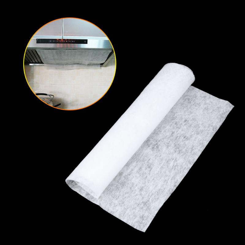 1pcs Anti Oil Suction Papers Kitchen Cooking Filters Clean Non Woven Fabric Range
