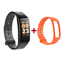 Good Wristbands C1s Coloration Display screen Waterproof Bracelet Coronary heart Charge Monitor Blood Stress Measurement Health Tracker Band for IOS
