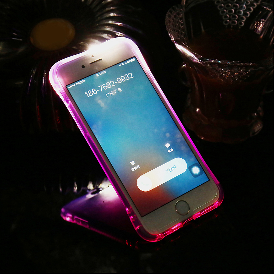 Flash TPU Case For iPhone 6 6S 7 Plus 5 5S SE YYF (22)