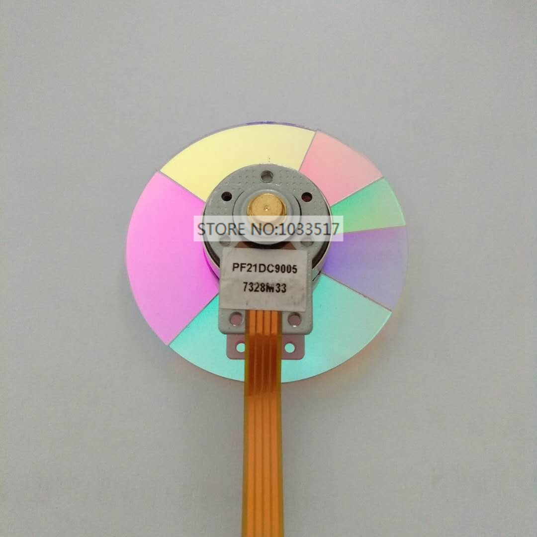 NEW Original Projector Color Wheel for Benq W1000+ Projector Color Wheel 100% new original projector color wheel for mitsubishi gx 570 projector wheel color
