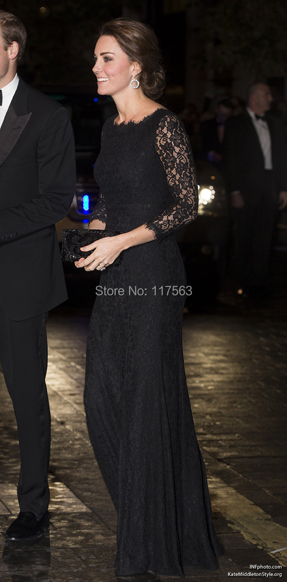 DVF Zarita Lace Dress, as worn by #KateMiddleton to the #RoyalVarietyPerformance.jpg