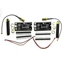 LILYGO®TTGO 2 ชิ้น/ล็อตESP32 SX1276 LoRa V1.0 868 / 915MHz Bluetooth Wi Fi Loraอินเทอร์เน็ตเสาอากาศDevelopment Board