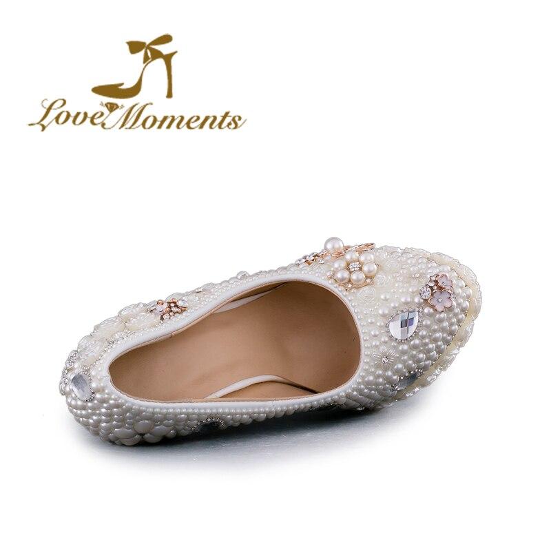 D'anniversaire 14cm 8cm Mariage Chaussures Parti Femmes Plate Talons Moments forme À Heels Blanc D'amour Heels Heels Fête Fleurs Main La Pompes 11cm Perle De Haute pnHUCq