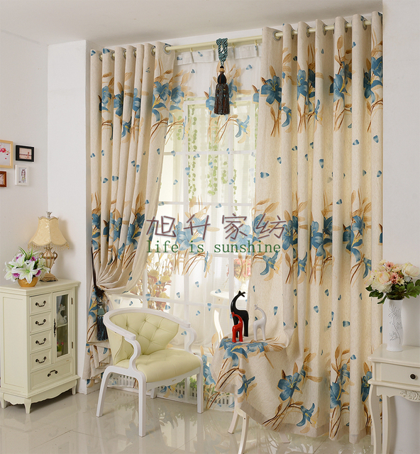 Simple Living Room Curtains Bamboo Furniture Luxury Modern Fashion Cotton And Linen For Curtain Shade Blind Design Amazing