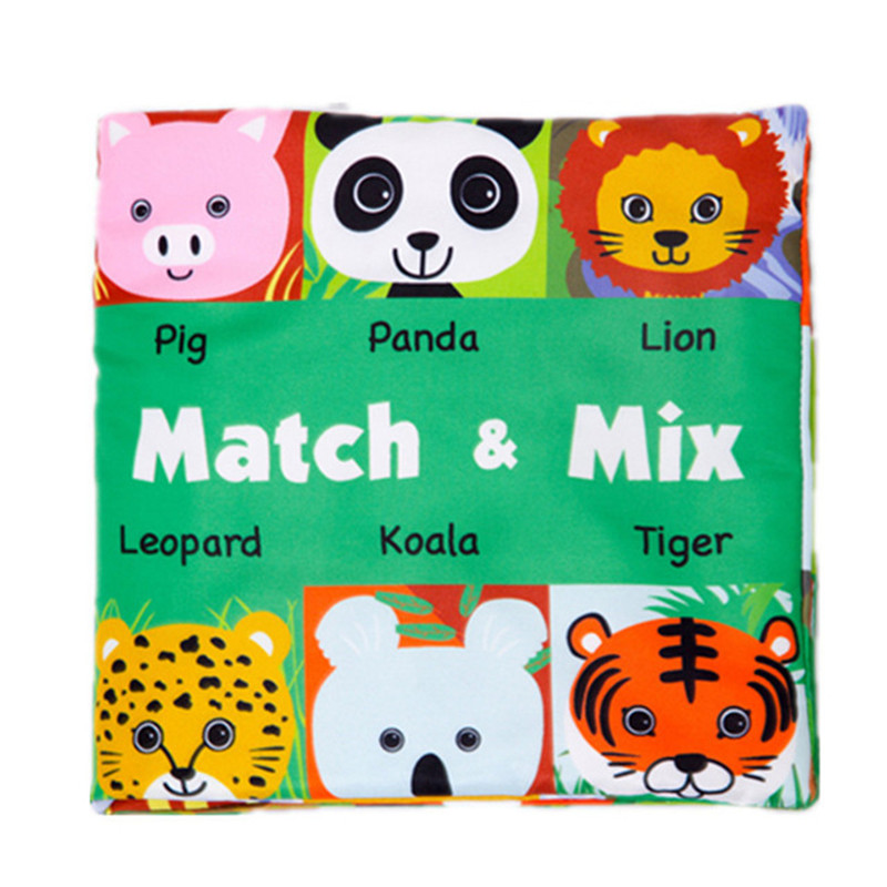 Face Matching Baby Toy Cloth Development Books Learning & Education Cloth Books 3~24 Month Children DS9Face Matching Baby Toy Cloth Development Books Learning & Education Cloth Books 3~24 Month Children DS9