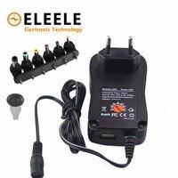 3 v 4.5 v 5 v 6 v 7.5 v 9 v 12 v 2a 2.5a ac dc adaptador de alimentação ajustável fonte do carregador universal para led luz tira lâmpada 30 w|Adaptadores AC/DC| |  -