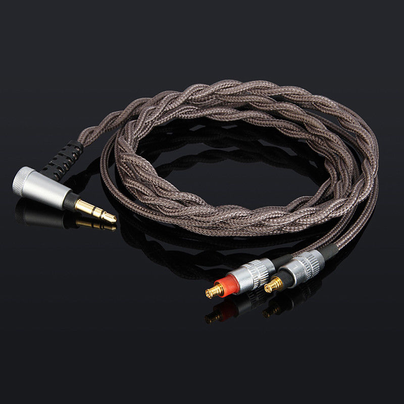 OCC silver plated Upgrade Cable For audio technica ATH-SR9 ATH-ES750 ATH-ESW950 ATH-ESW990H ESW990 цена