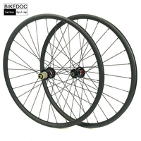 BIKEDOC 30MM*25MM Carbon MTB Wheels 29er XC Rodas VTT 27.5er Bicycle Carbon Wheels