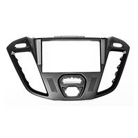 2 Din Car Radio Stereo Fascia Panel Frame DVD Dash Installation Surrounded Trim Kit For Ford