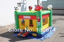 Hot Sell Inflatable Sports bouncer, CE standard bouncy castle Moonwalk