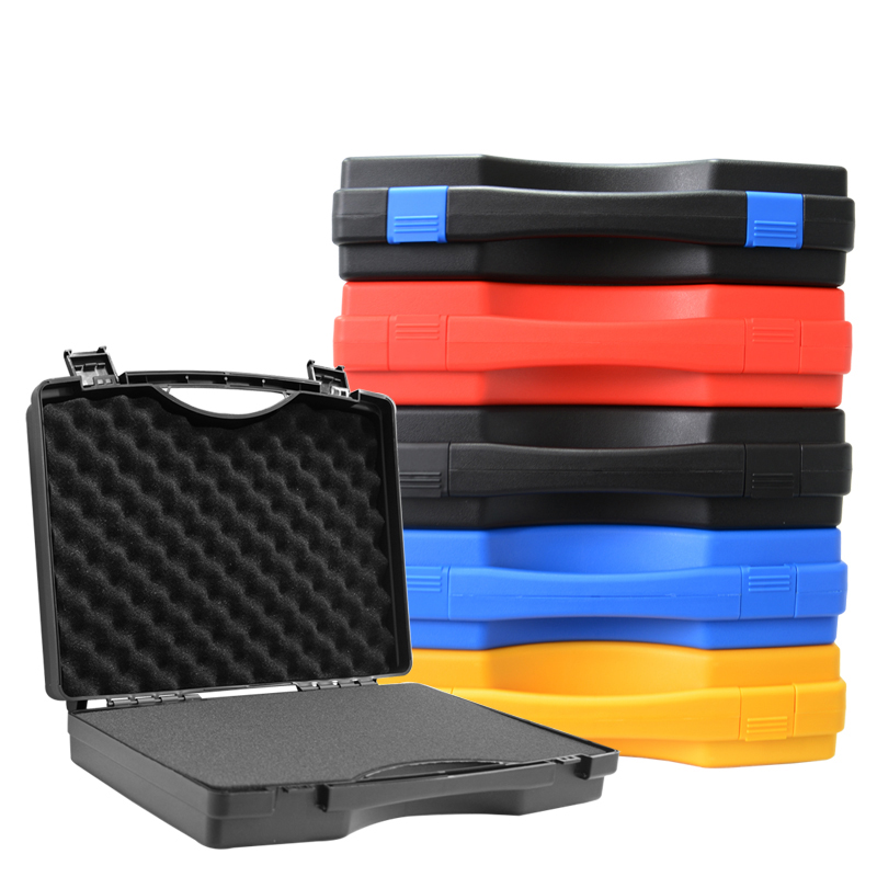 Protective Safety Box Toolbox Equipment Instrument Box Hardware Tool Box Camera Case With Pre-cut Foam Lining 340x270x80mm