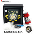 Electronic Cigarette Kayfun mini RTA 5ml 22mm Atomizer Clone Vaporizer Drip Tip 510 Thread E Cigarettes Fit Box Mod Vape
