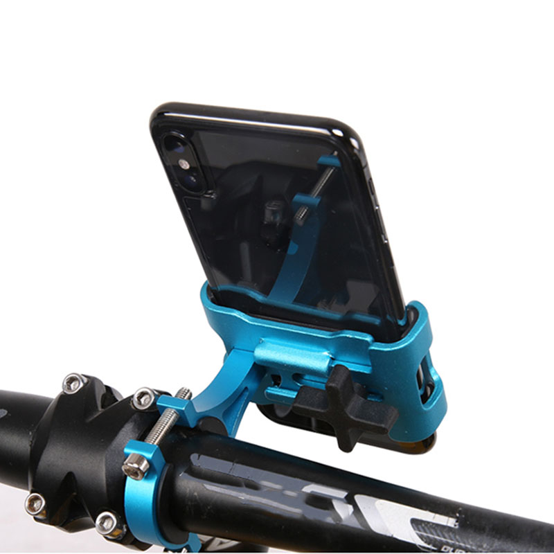 Road Bike Phone Holder For Motorcycle Mountain Bicycle Handlebar Frame Mount Bracket Support Stand Cycling Parts Mtb Accessories