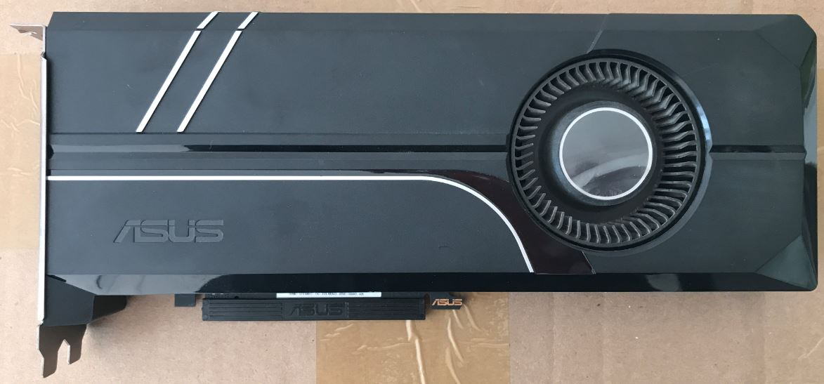 ASUS GTX1080TI 11G public version graphics card used 90%new image