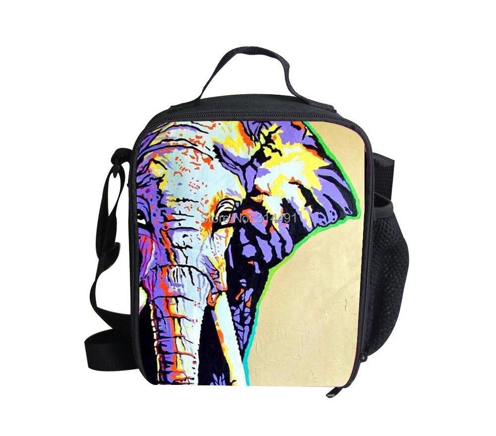 crianças escola lancheira elefante 3d lancheira isolamento