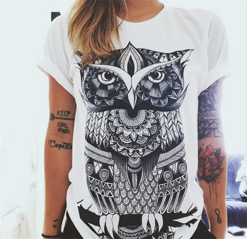 New european style summer t shirt women 2018 hamsa hand 3d for Designer tee shirts womens
