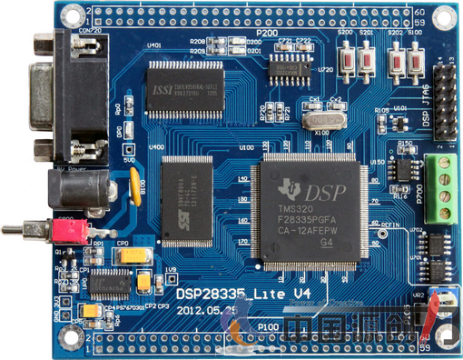 DSP28335 Core Board DSP28335 Development Board Lite Type TMS320F28335 Development Board 4 Layer