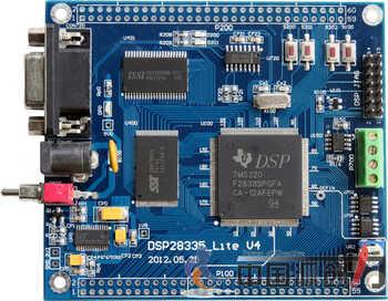 DSP28335 core board DSP28335 development board Lite type TMS320F28335 development board 4 layer