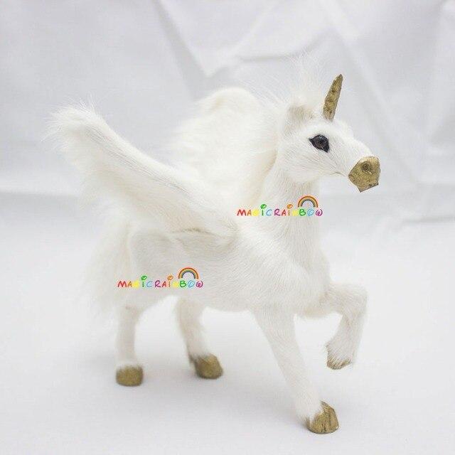 Furry Unicorn Pegasus Horn Horse Wings Tianma Christmas Ornament