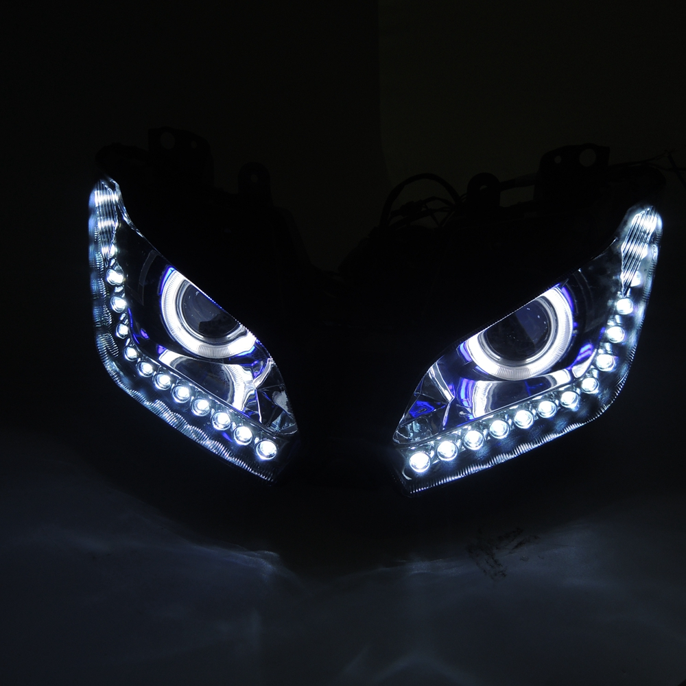 Color Changing LED Fiber Optic Night Light Lamp Stand Home Decoration  UWUK