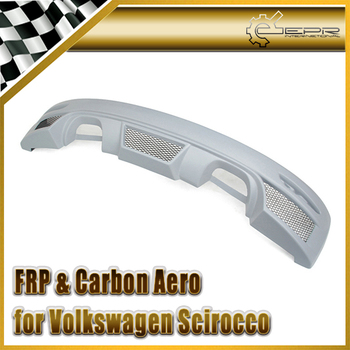 Car Styling For Scirocco RIG Style FRP Fiber Glass Rear Bumper