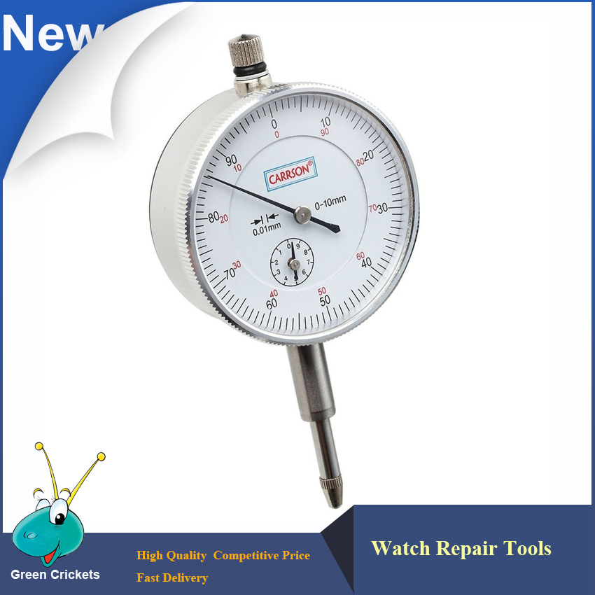 Industrial grade Ultra Precision 0.01mm Accuracy Measurement Instrument Dial Indicator for watch repair and industr quality professional precision tool 0 01mm accuracy measurement instrument dial indicator gauge stable performance hot selling
