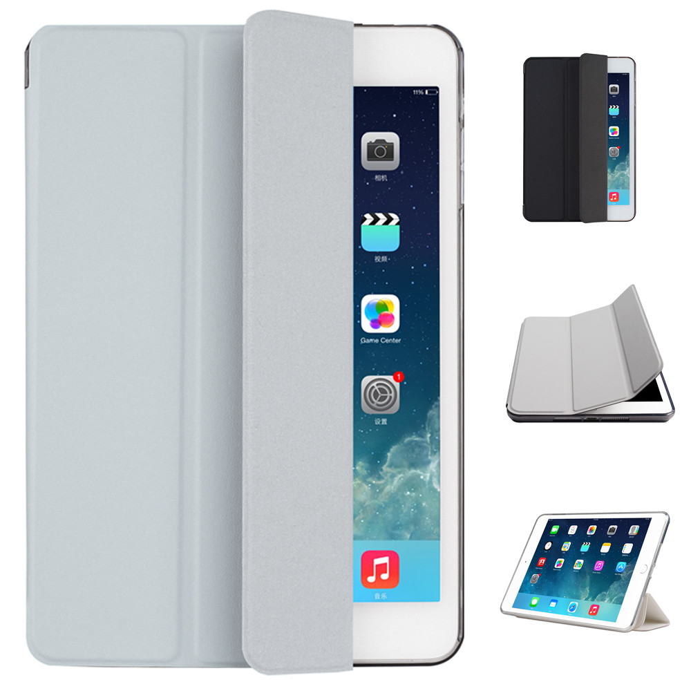 TPU Material Sleep Wake Up Support Design Holder Protective Cover Case for New 9.7 inch iPad 2017 2018 iPad 2 3 4