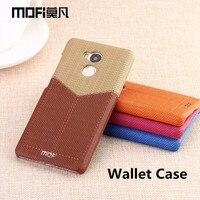 Redmi 4 Pro Case 16gb 32gb MOFi Wallet Case Xiaomi Redmi 4 Pro Cover Hard Back