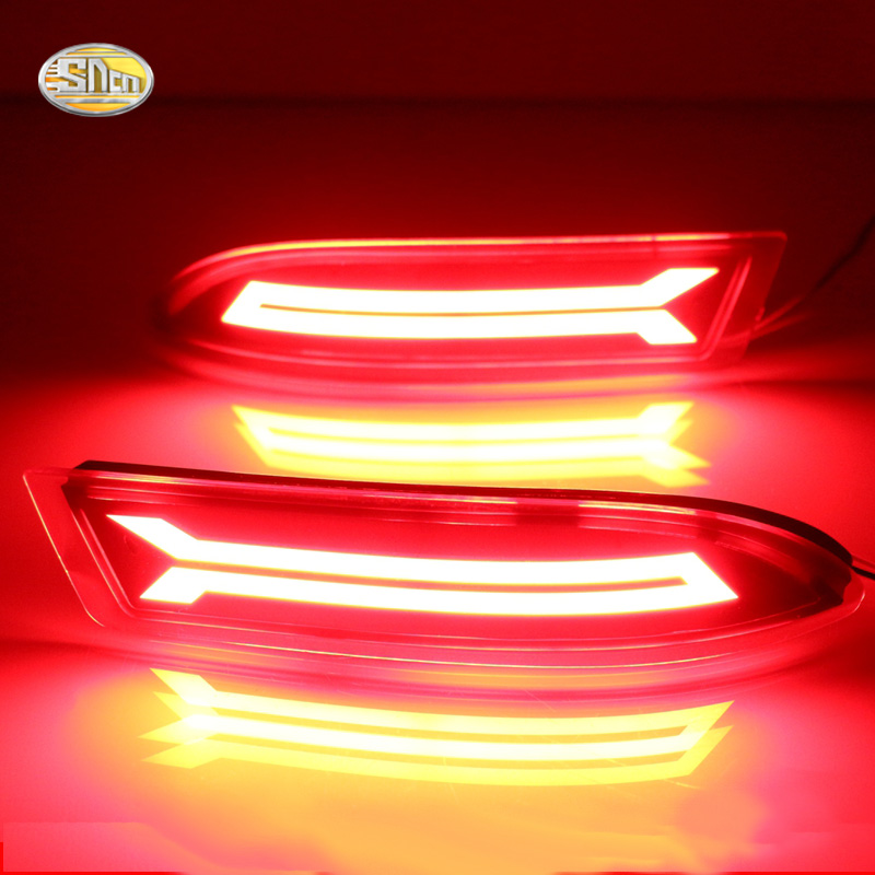 SNCN Led rear bumper lights for Toyota Avanza 2015 2016 Led Braking Driving lamp reflector насадка на кий кожаная fairmnded fac 203