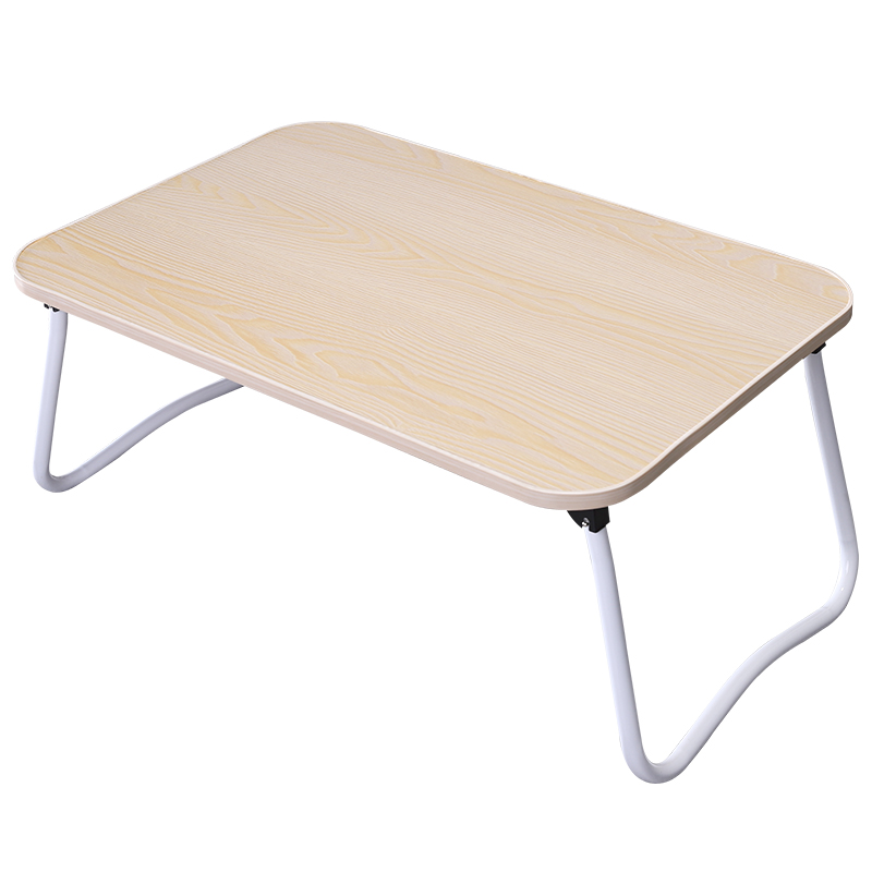School Desk Organization Bamboo Wood Grain Wood Portable Folding Computer Desks Organization Simple Adjustable Standing Desk ...