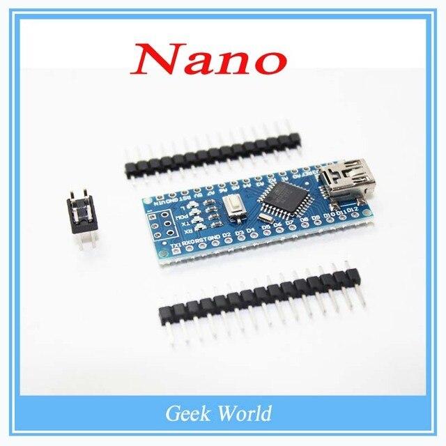 1 ШТ. Nano 3.0 контроллер совместимость с nano CH340 USB драйвер БЕЗ КАБЕЛЯ для Arduino NANO V3.0