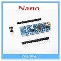 1 PCS Nano 3.0 controlador compatível com nano motorista CH340 USB SEM CABO para Arduino NANO V3.0