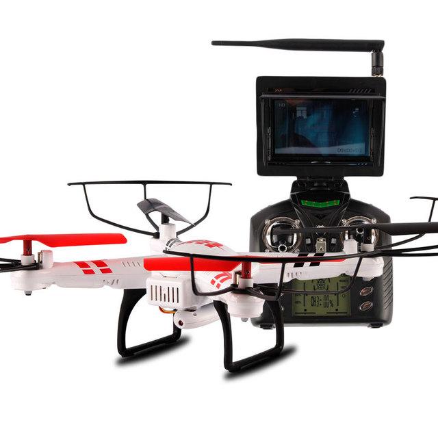 Wltoys V686G V686 5.8 G FPV RC helicóptero de controle remoto transmissão em tempo Real 4CH Quadcopter Drone com câmera 2.0MP RTF brinquedos