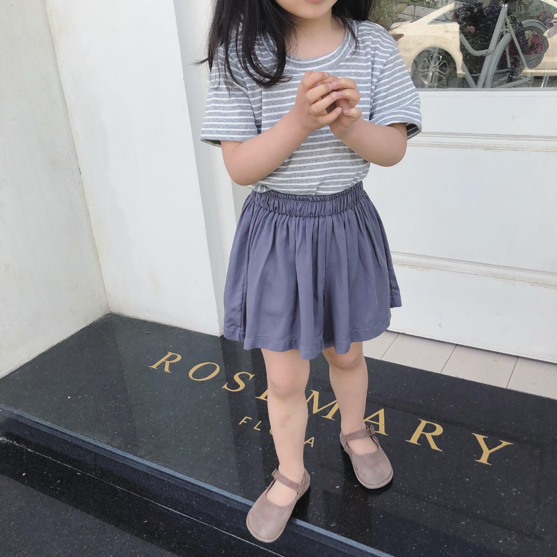Zomer meisje wijde pijpen broek Kinderen broeken Kinderkleding Big - Kinderkleding - Foto 2
