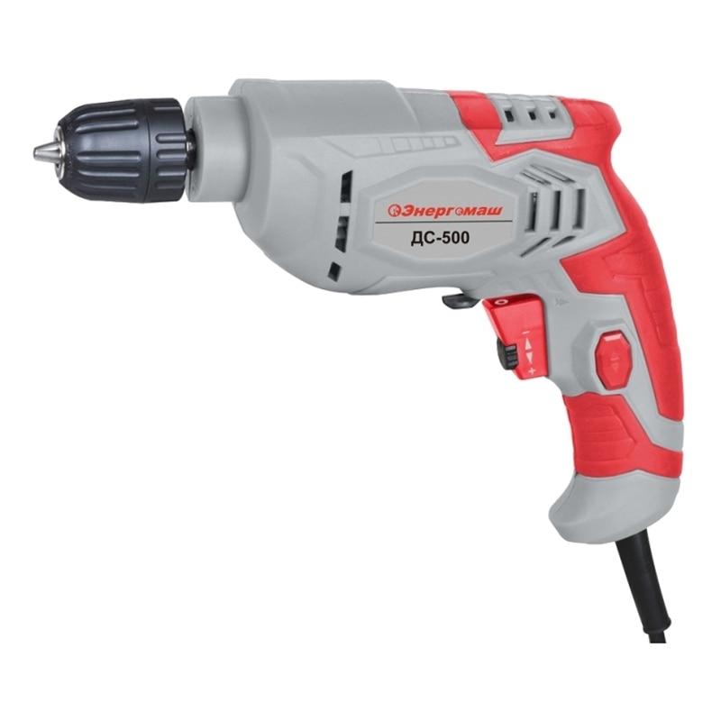Drill electric Energomash DS-500 dmiotech 20 pcs electric drill motor carbon brushes 10mm 11mm 13mm 17mm 6mm 7 5mm 7mm 8mm 9mm