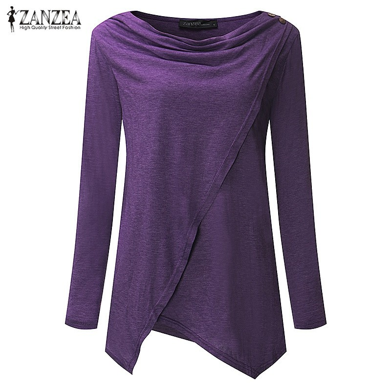 HTB1Ju6JOVXXXXbvXpXXq6xXFXXXW - Women Cardigan Long Sleeve O Neck Casual Loose Blouses