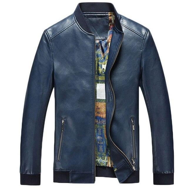 Кол-во продаж Официального Платье Костюм Мужская Кожаная Куртка Для Продажи Известный Бренд Мужские Черные Коричневые Кожаные Куртки Оптом C294