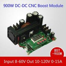 Bst-900w DC-DC чпу повышающий преобразователь 8 — 60 В шаг — до 10 — 120 В солнечная зарядка CVCC модуль