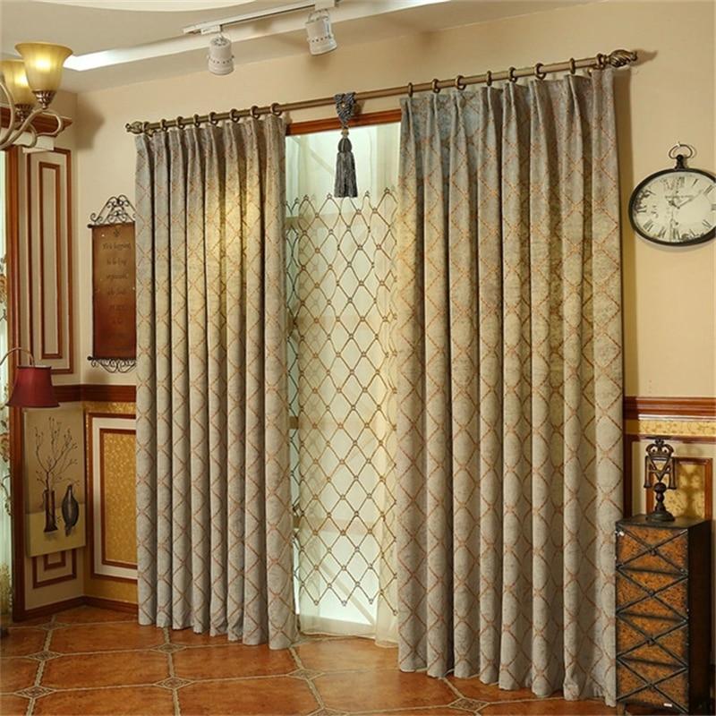 Tela de la cortina chenilla compra lotes baratos de tela - Telas bordadas para cortinas ...