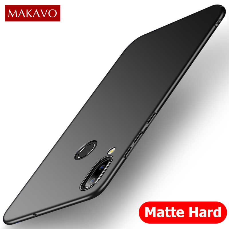 MAKAVO for Huawei Honor 8X Case Slim Matte PC Hard Back Cover for Huawei  Honor 8X Max Phone Cases