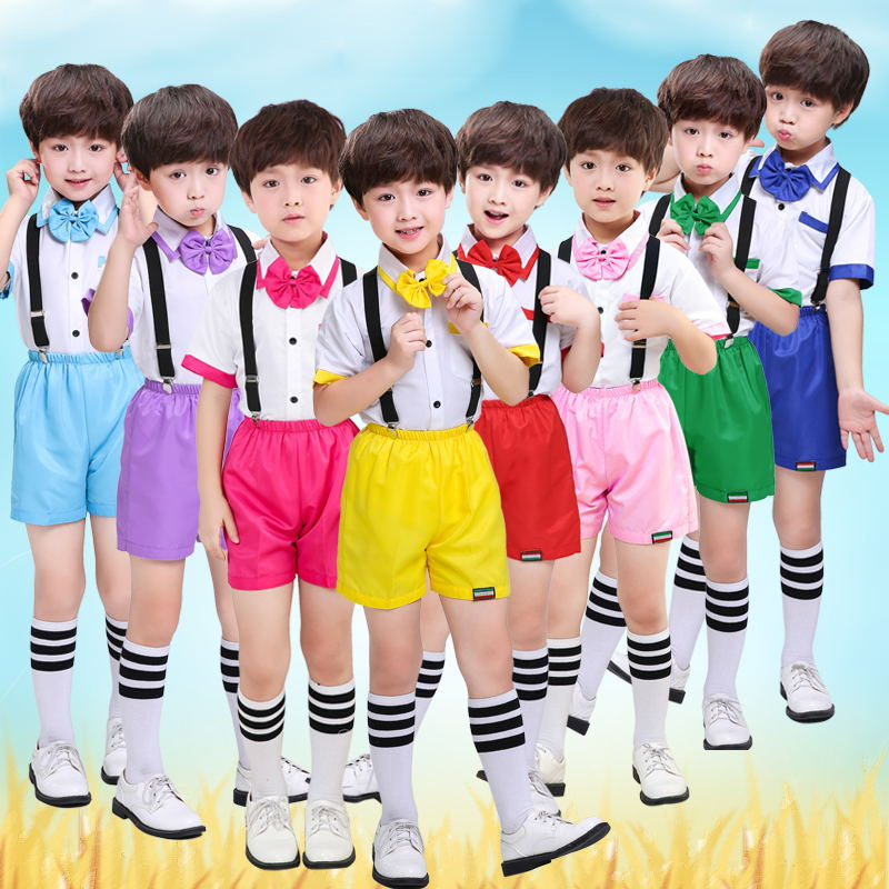 Childrens Chorus Costumes New Boys Trousers Boys Primary School Hosts Dress Recital Performance Costumes