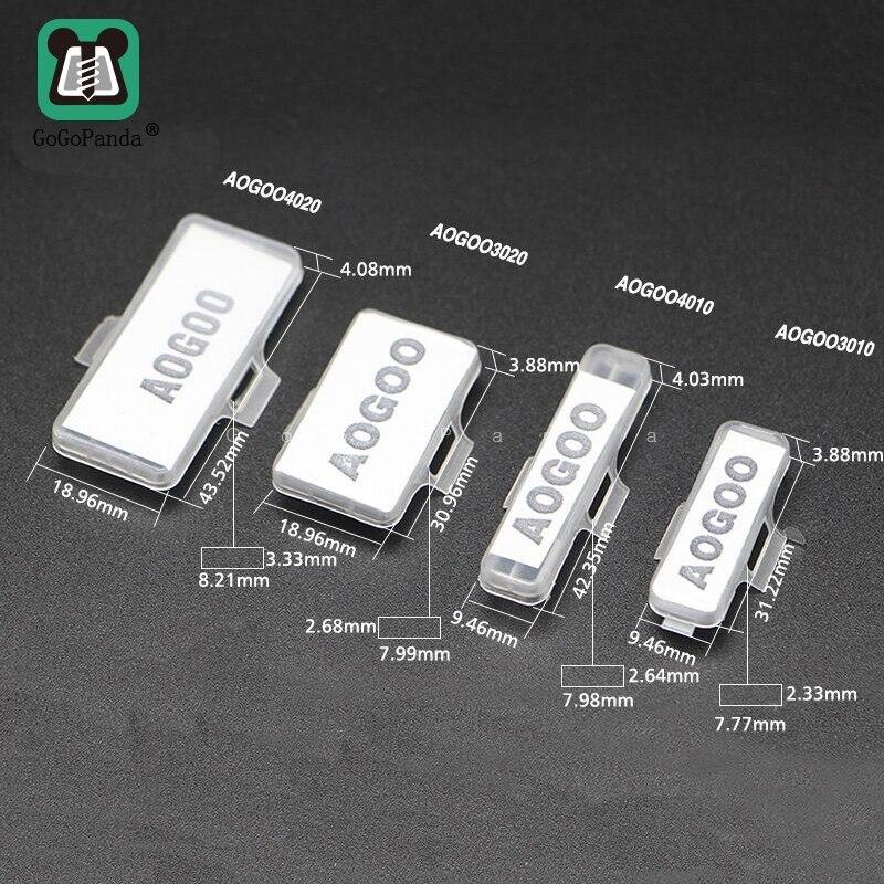 Free Shipping 100PCS Cable Marker  Environmental Flame Retardant Plastic Waterproof Transparent 3010 3020 4010 4020