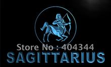 LK453- Sagittarius ZODIAC Astrology Bar LED Neon Light Sign home decor crafts(China)
