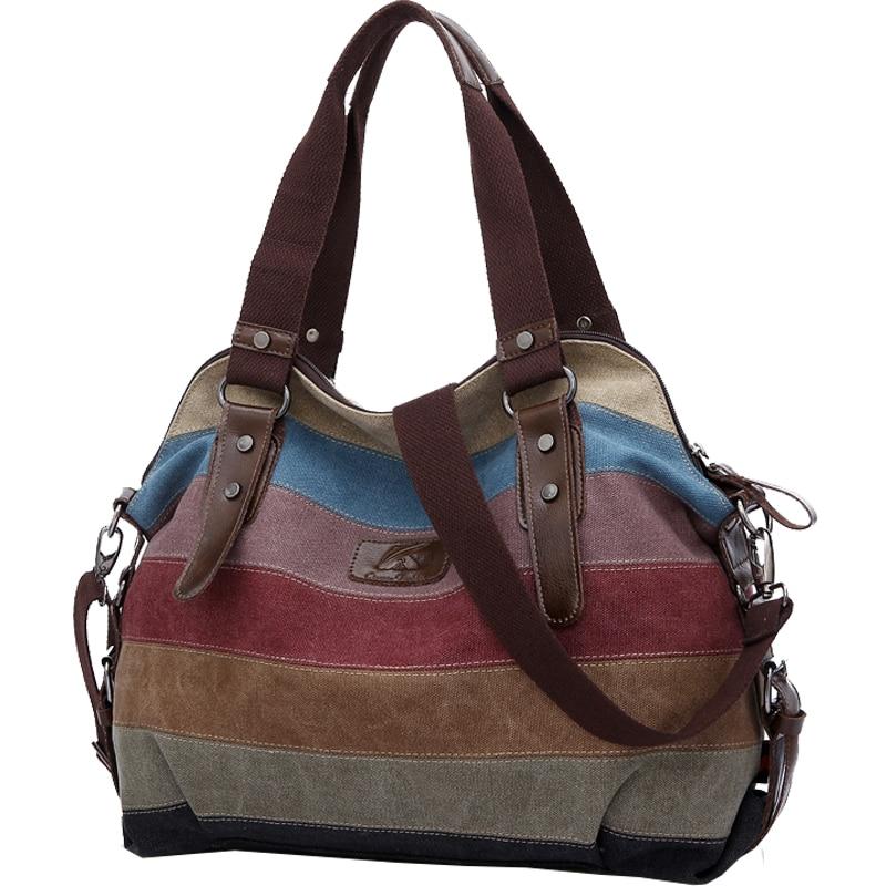 Canvas Outdoor Women Sports Gym Fitness Bag Handbags Tote Shopping Bag Shoulder Bags Travel Duffel Sac De Sport