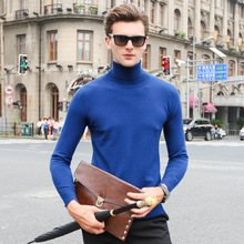 2016 New Brand Men Wool Sweater Autumn Winter TurtlenecThick Kintwear Pullover Christmas Mens Sweaters Long Sleeve High Quality
